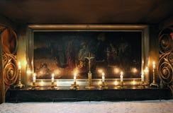 Grotte der Geburt Christi Die Basilika der Geburt Christi in Bethlehem Lizenzfreies Stockfoto