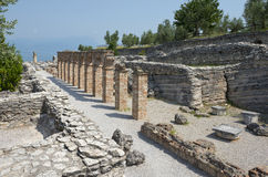 Grotte Di Catullo Roman Remainsat Sirmione Stock Photography
