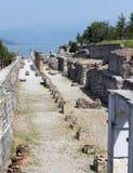 grotte Di Catullo Roman Remainsat Sirmione 库存图片
