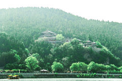 Grotte di Longmen, ¼ ŒChina di ŒAsiaï del ¼ di Luoyang, Henan Provinceï Fotografia Stock Libera da Diritti