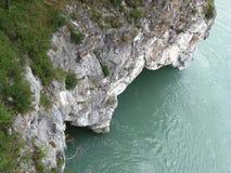 Grotte et x28 ; River& x29 de Katun de turquoise ; Photos libres de droits