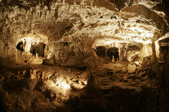 Grotte von choranche stockbild