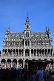 Grottemarkt in Brussel Royalty-vrije Stock Afbeeldingen