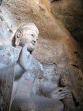Grottes Bouddha énorme de Yungang Images libres de droits