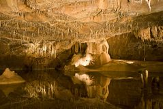 Grottes de Lacave Royalty Free Stock Photo