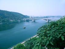 Grottes de Longmen à Luoyang Images libres de droits