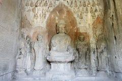 Grottes de Longmen Image stock