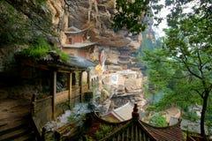 Grottes de Shi Zhongshan Photos stock