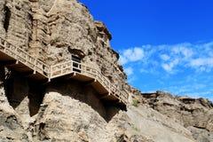 Grottes de Yulin photographie stock libre de droits