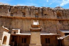 Grottes de Yulin Images libres de droits