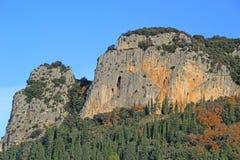 Grottes des demoiselles, saint bauzille de putois, Herault, France. Demoiselles`s cave, saint bauzille de putois, Herault royalty free stock images