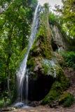 Grotto, ένας τεχνητός καταρράκτης Malievtsy, περιοχή Khmelnitsky, Στοκ φωτογραφίες με δικαίωμα ελεύθερης χρήσης