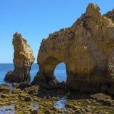 Grotto σε Ponta DA Piedade στην Πορτογαλία Στοκ Εικόνες
