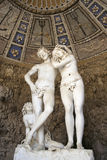Grotto of Adam and Eve, Bobili Gardens, Florence, Ilaly Stock Images