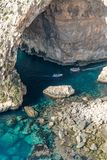Grotto azul fotos de stock royalty free