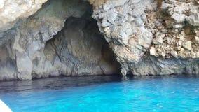 Grotto blu Fotografie Stock
