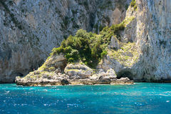 Grotto in Capri Stock Photography