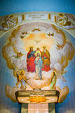 The Grotto Church altar royalty free stock image