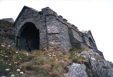 Grotto de la reina Adelaide, 1982. fotografía de archivo libre de regalías