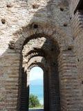 Grotto di Catullo, Sermione, Italia Foto de archivo libre de regalías