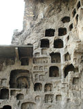 Grotto di Longmen Fotografia Stock