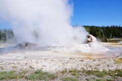 Grotto Geyser Royalty Free Stock Photos