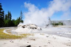 Grotto Geyser Stock Photography