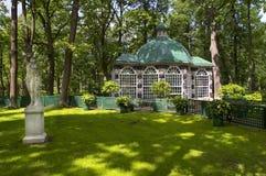 Grotto house Peterhof Park Royalty Free Stock Image