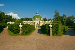 The Grotto in Kuskovo Estate Royalty Free Stock Image