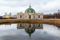 Grotto , Museum - estate Kuskovo 18th century. Moscow, Russia. royalty free stock photos