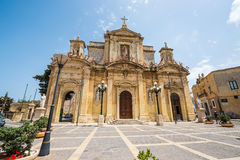 Grotto and Parish Church of St.Paul on Rabat in Malta Stock Photography