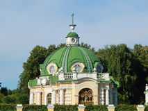 The Grotto Pavilion in the Architectural Park Ensemble Kuskovo, Moscow. Stock Photography