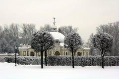 Grotto pavilion in Kuskovo Stock Image