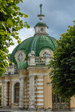 The grotto pavilion. In the Park Kuskovo, Moscow royalty free stock photography