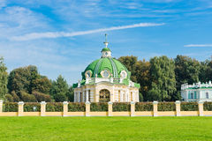 The Grotto Pavilion  in park Kuskovo, Moscow Stock Photos