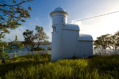 Grotto Point Lighthouse, Sydney Harbour, Australia Royalty Free Stock Images