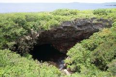 Grotto in Saipan Stock Photos