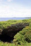 Grotto in Saipan Royalty Free Stock Photo