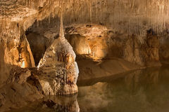 Grotto sotterraneo Immagine Stock