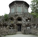 Grotto in Veitshoechheim Royalty Free Stock Photography
