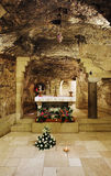 Grotto of the Virgin Mary, Nazareth Stock Photos