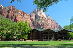The Grotto, Zion National Park, USA Royalty Free Stock Images
