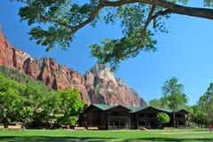 The Grotto, Zion National Park, USA Stock Photos