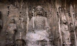 Grottoes de Longmen Imagens de Stock Royalty Free