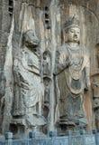 Grottoes de Longmen Imagem de Stock Royalty Free