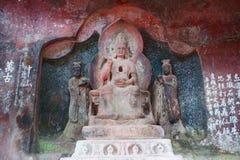 Grottoes de Shi Zhongshan Foto de Stock