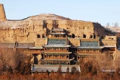Grottoes de Yungang Imagens de Stock Royalty Free