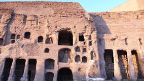 Grottoes de Yungang Fotos de Stock Royalty Free