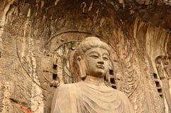 Grottoes de Yungang foto de stock