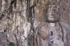 Grottoes di Longmen Immagini Stock